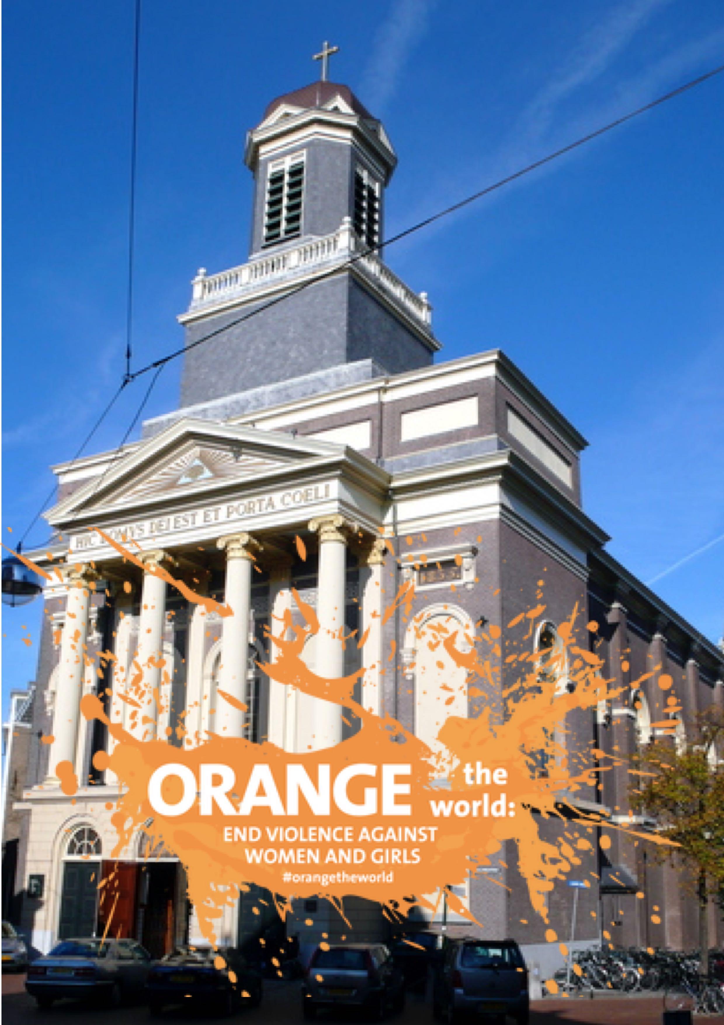 leiden; Zonta en orange the world